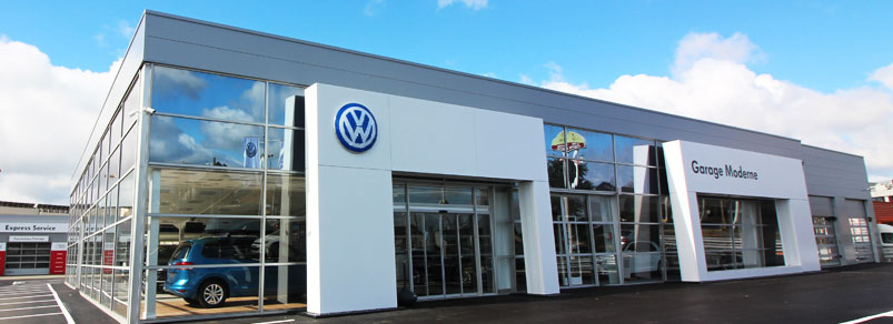 Volkswagen angers garage moderne groupe boucher for Garage volkswagen saumur