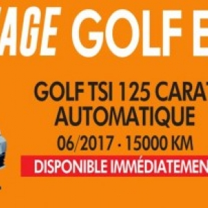 Arrivage Golf TSI occasion
