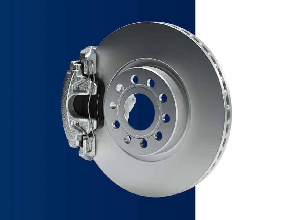 Disques et plaquettes de frein Volkswagen
