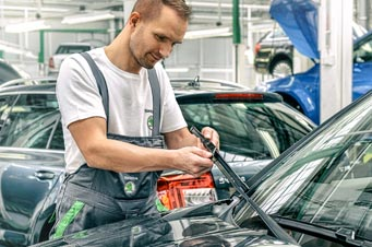 remplacement pare-brise skoda
