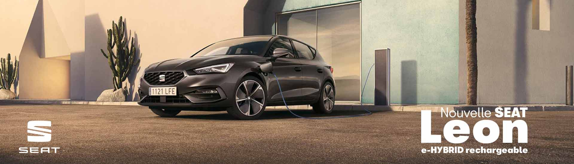 Nouvelle Seat Leon e-HYBRID rechargeable