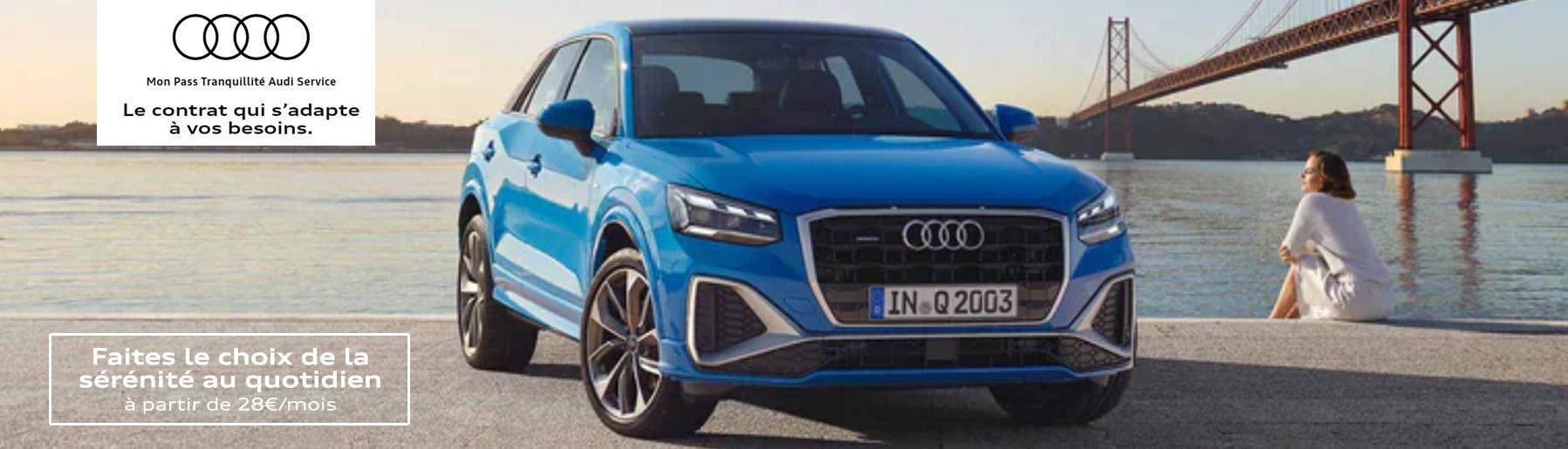Mon Pass Tranquillité Audi Service - Mensualisez votre entretien !