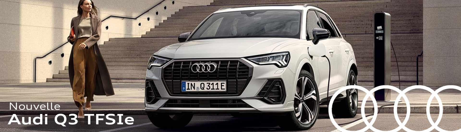 Audi Q3 TFSI e Hybride rechargeable